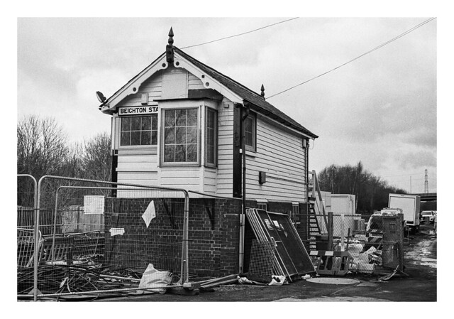 The last days of Beighton Station
