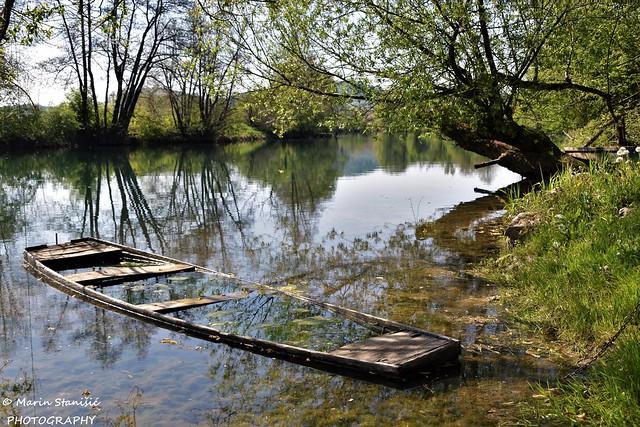 Springtime on river Korana - Barilović, Croatia