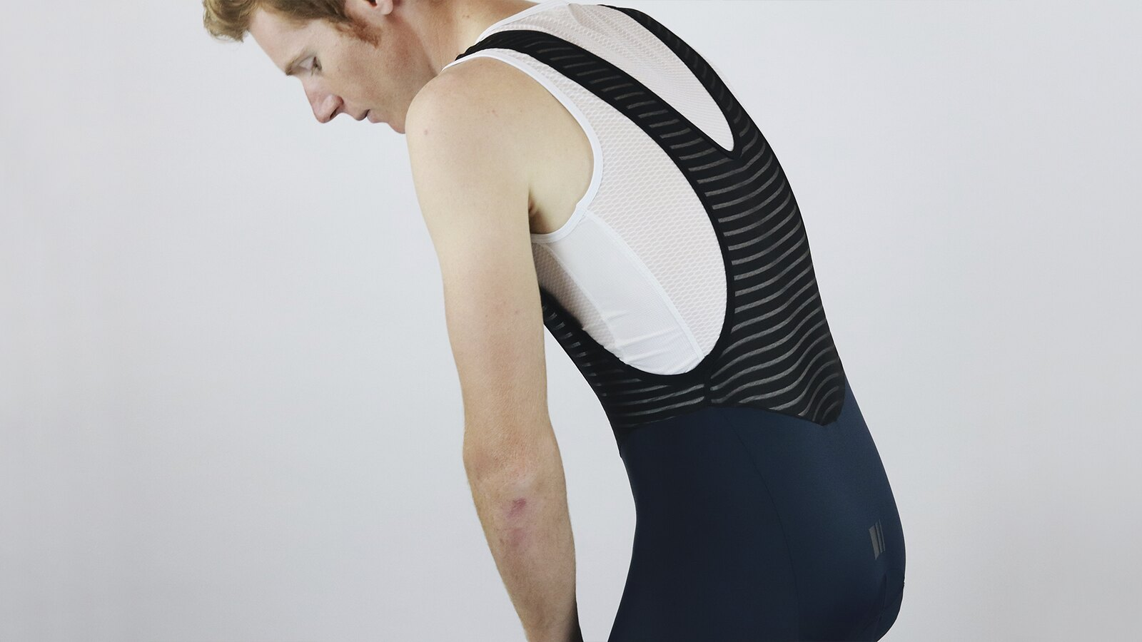 Men's Pro Skin Nautical Bib Short