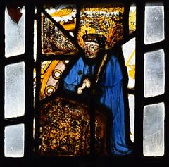 praying figure (donor? 15th Century)