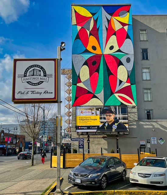 2021 - Vancouver - Give it Time - Mural by Thomas Connell
