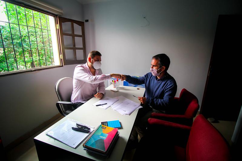 Firma de convenio con SIEMPRE y SAN NICOLÁS | MAR 2021