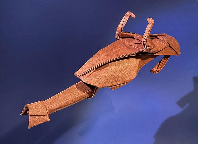 Speeder Bike origami new photo for the new diagram