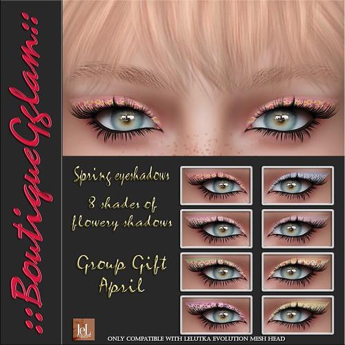 ::BG:: Spring eyeshadows - Group Gift April