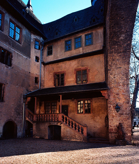 Fürstenau Castle (14th century), inner court