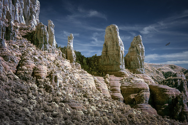 Sedona Monuments - IR