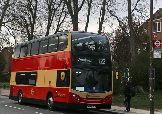 Stagecoach London - 12345 - SN64OGU - Selkent Ambassador