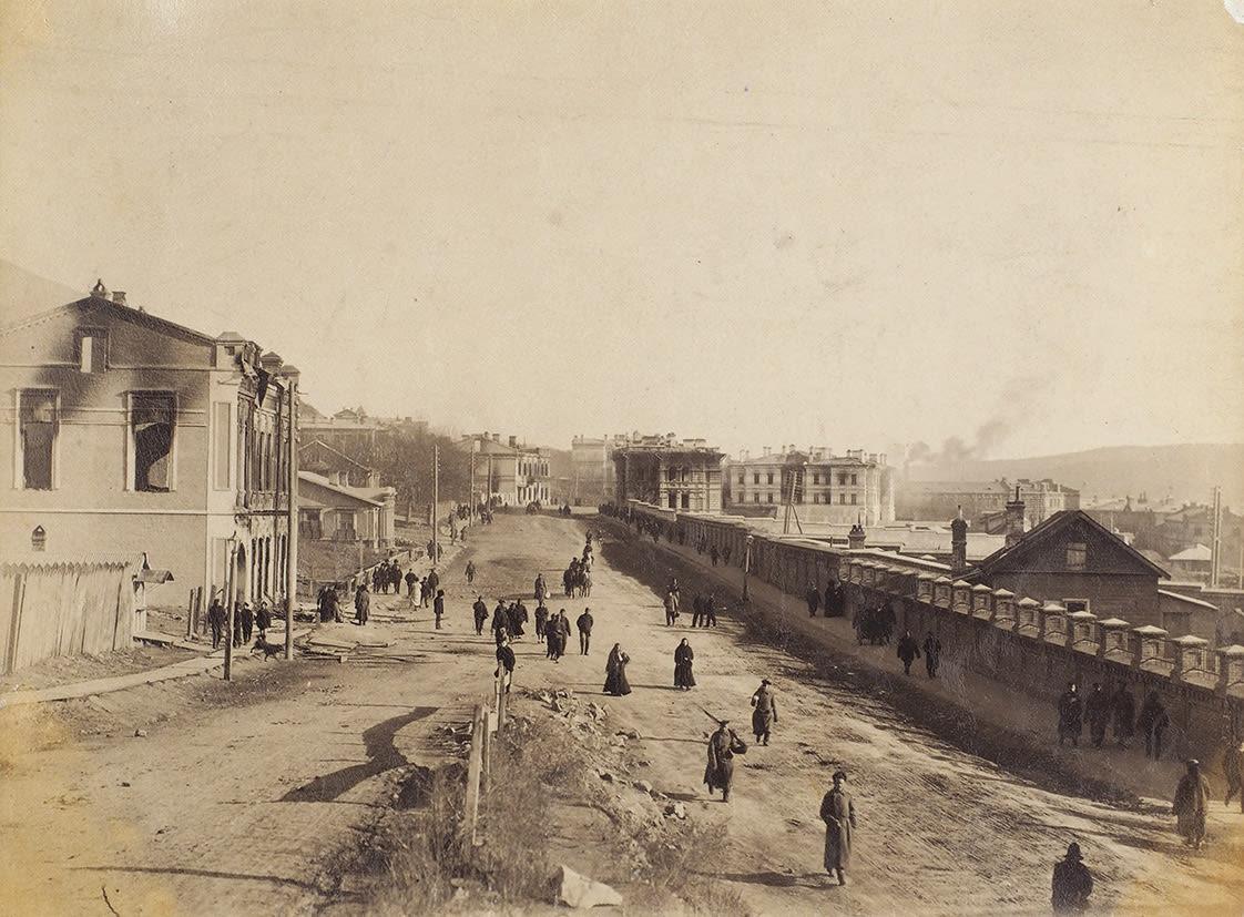 1905. Светланская улица после беспорядков
