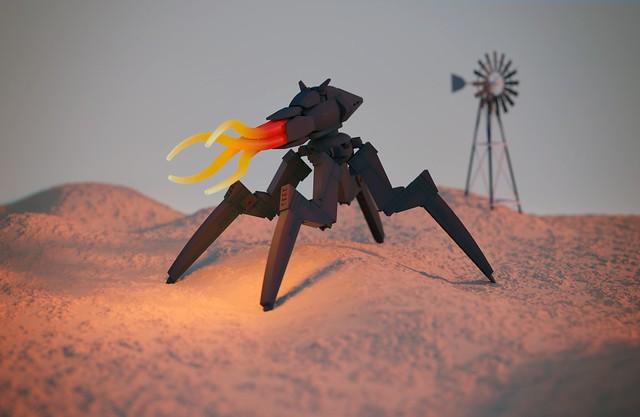Overland Game: Chaser Alien