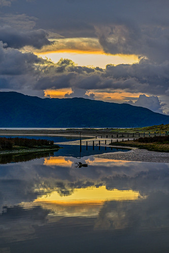 <p>.... reflected in Waimanu Lagoon, Waikanae Beach, NZ</p>