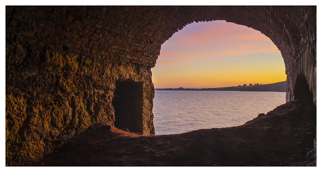 Lime Kiln sunset
