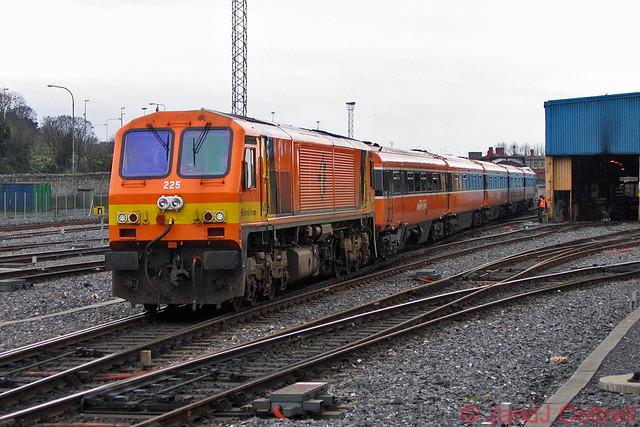 225 at Dublin Heuston