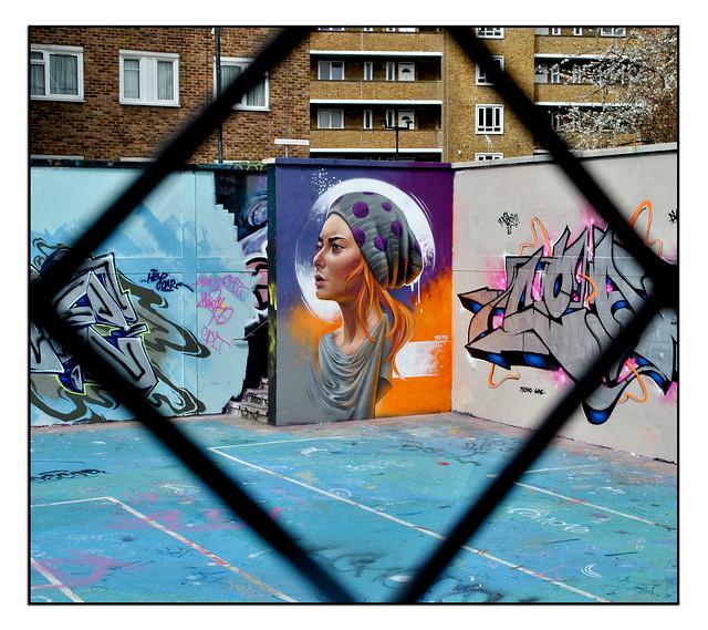 LONDON STREET ART by WOSKERSKI.