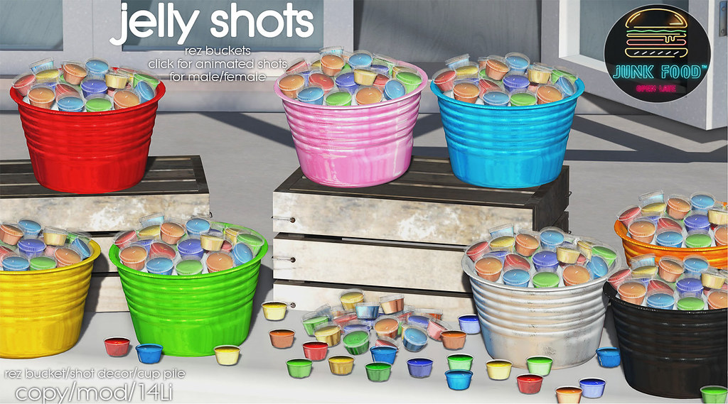 Junk Food - Jelly Shots Ad