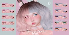 ✿ {SUGARY} Yuri eyeshadow Fatpack ✿