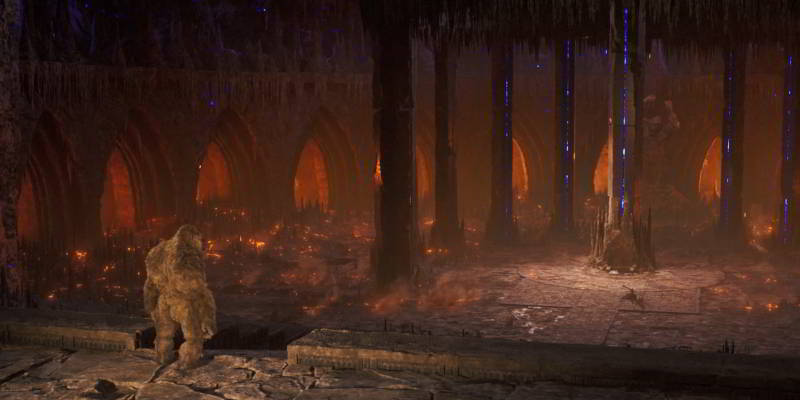 Hollow Earth throne room