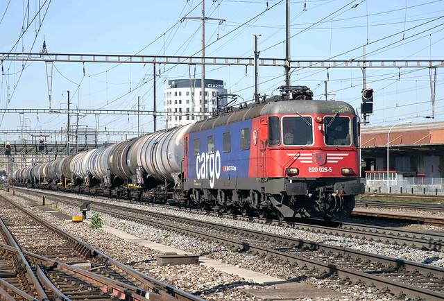 SBB Re 6/6 620 026 Pratteln
