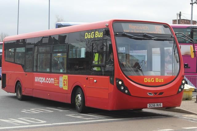 D&G Bus Wright StreetLite 56 (DG56 BUS)