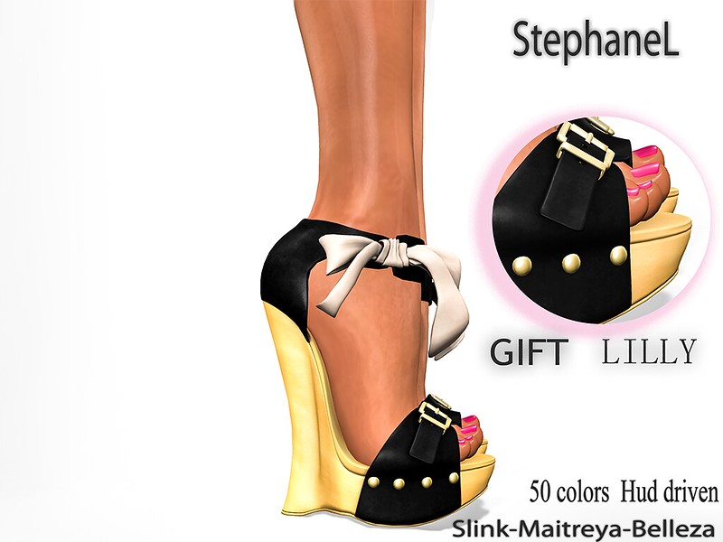 NEW GIFT [StephaneL] LILLY SHOES (FOR APRIL) IN MY STORE (FREE FOR MY GROUP MEMBERS *_*)