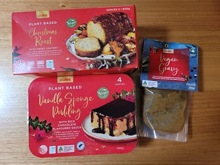 Coles Christmas Foods