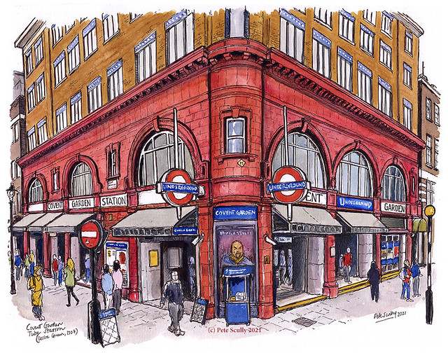 Covent Garden Tube Station