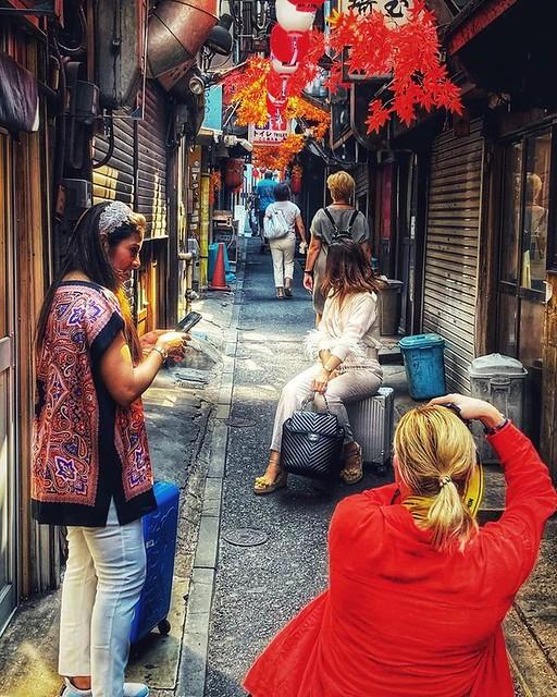 Omoide Yokocho ở thủ đô tokyo ( Nhật Bản )