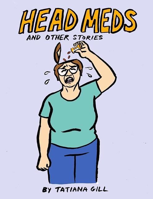 Head Meds - my new comic book!