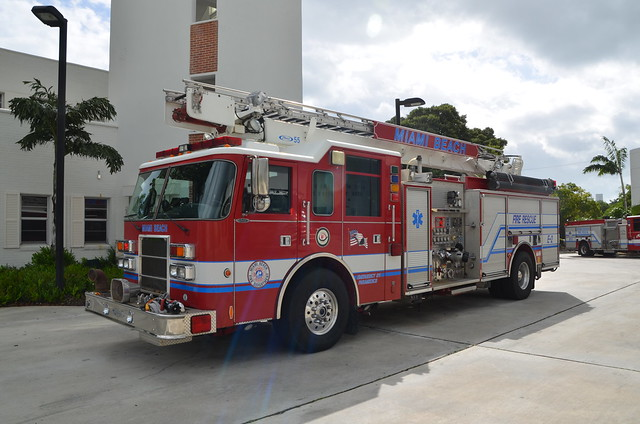 Miami Beach Fire Department. Old Engine 2