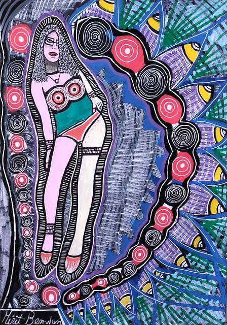 אמנות ריאליסטית מירית בן נון ציירת ישראלית אמנית מודרנית עכשווית