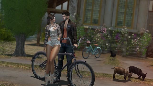 My Korner #531 - Bicycle Date!