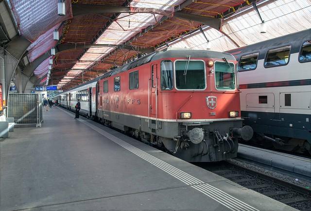 SBB Re 4/4 420 118 Zürich Hbf