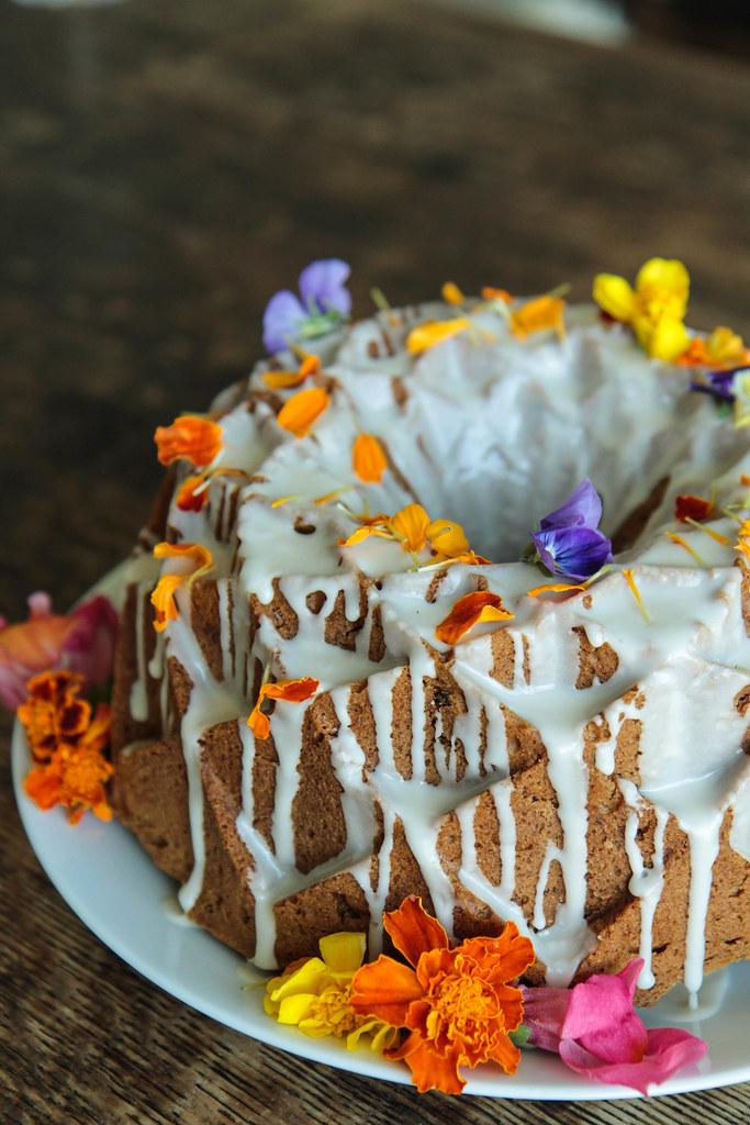 Cardamom Carrot Bundt Cake (Vegan and Gluten-free) from HeatherChristo.com