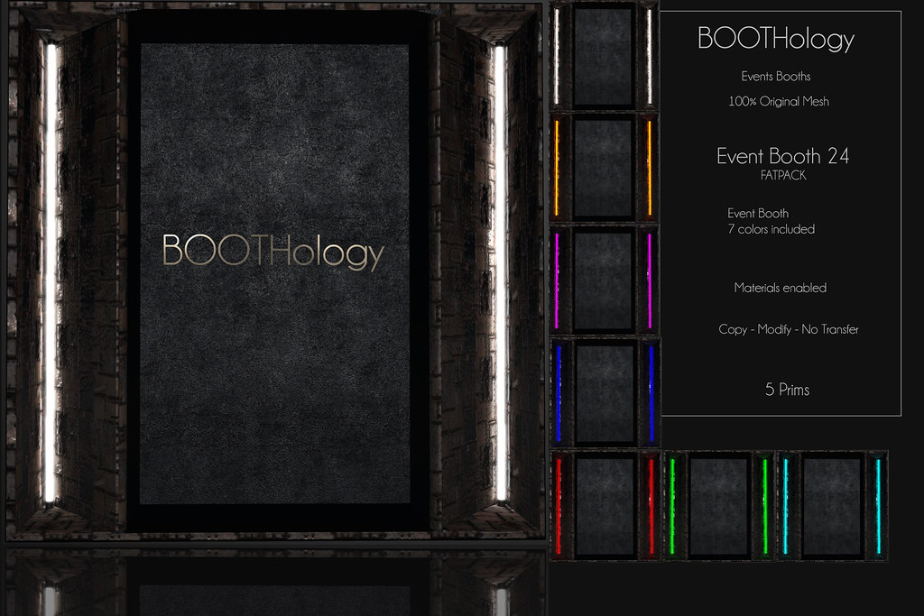 Bothology – Event Booth 24 AD – Posevent