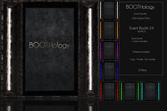 Bothology - Event Booth 24 AD - Posevent