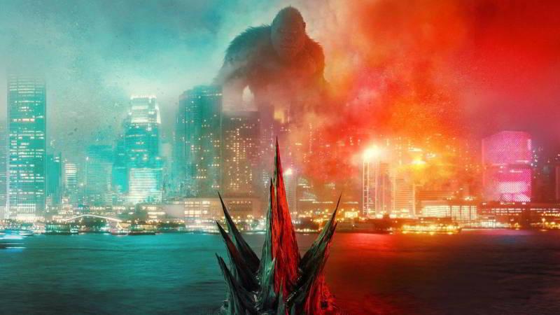 Godzilla vs Kong movie poster