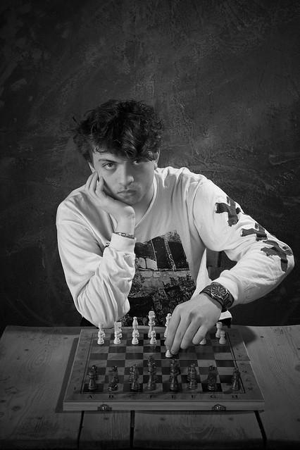 Hans Niemann Chess Grandmaster for ChessLife magazine