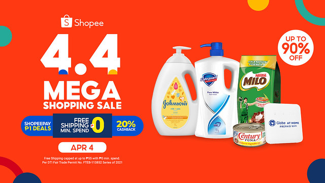 4.4 Mega Shopping Sale Listicle KV