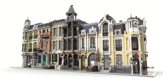 Lego MOC modulars • Original MOCs