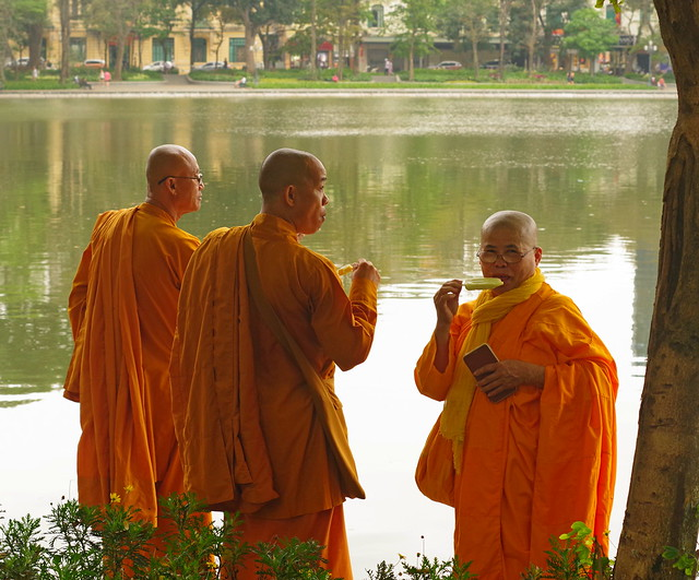 Monks with Lollies