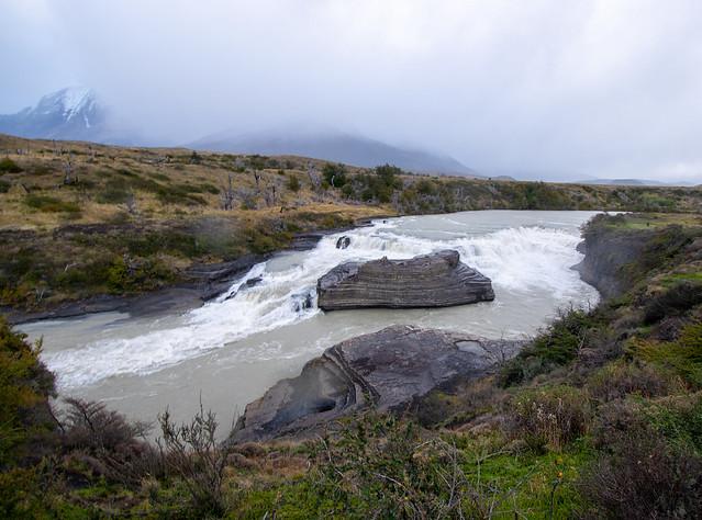 Cascada río Paine, Torres del Paine