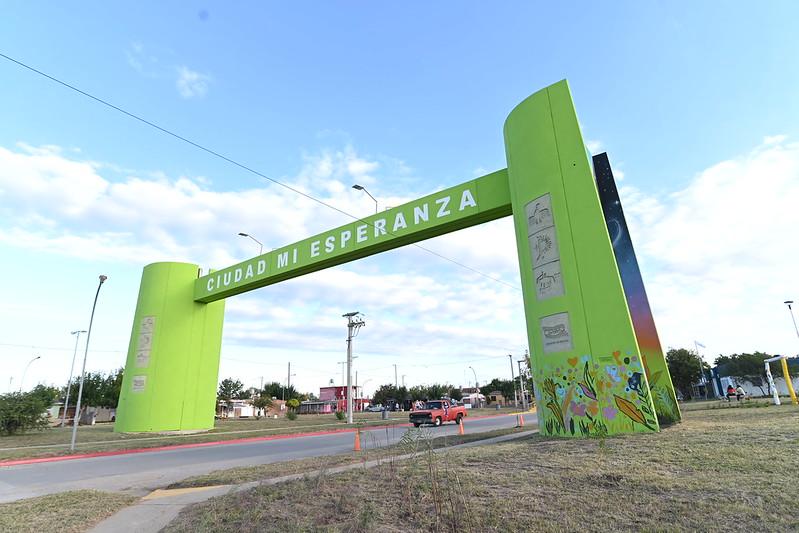 En barrio Ciudad Mi Esperanza recuperaron plazas y espacios verdes abandonados