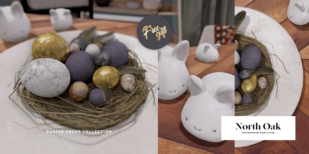 North Oak / Easter Decor Collection (Group Gift)