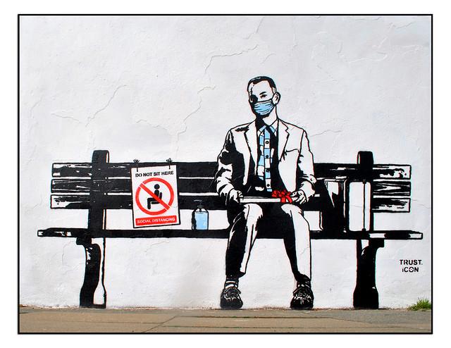 LONDON STREET ART by TRUST ICON