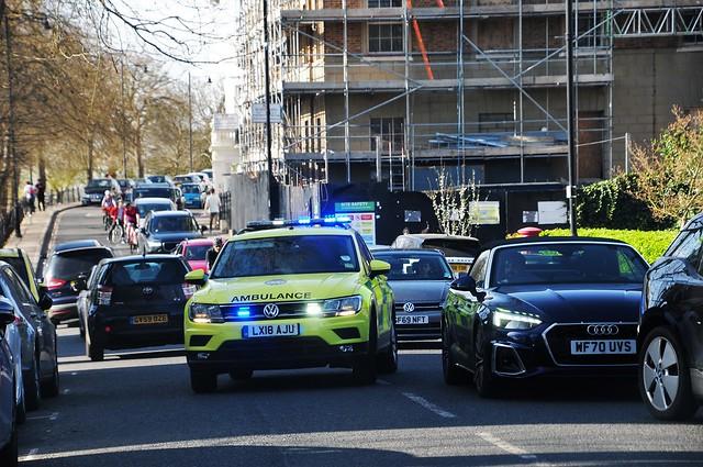 Don't Panic...Paramedic Coming Up Richmond Hill