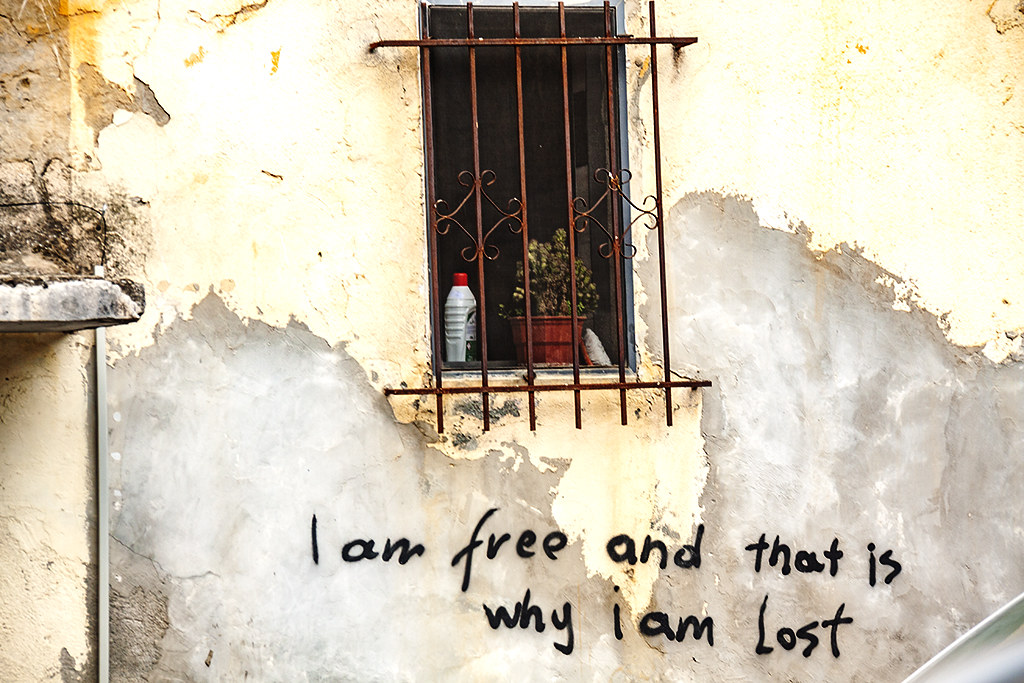 I am free and that is why I am Lost on 4-2-21--Tirana