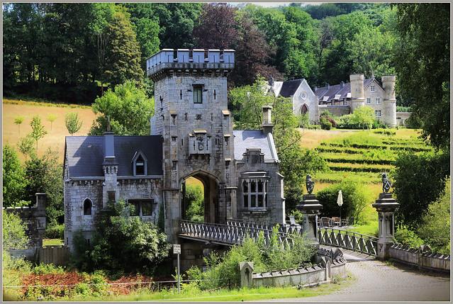 Château des Mazures, vallée de la Vesdre, Pepinster, Province de Liège, Belgique
