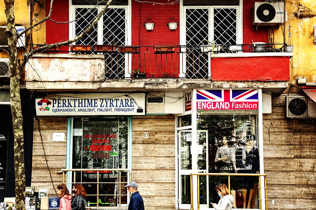 ENGLAND Fashion on 4-2-21--Tirana