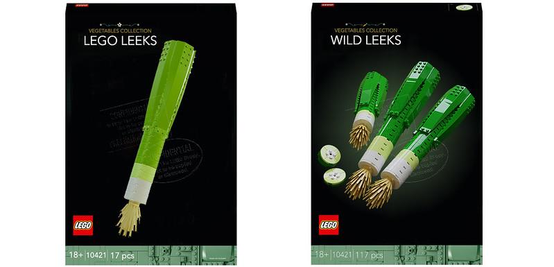 LEGO Leeks Concept