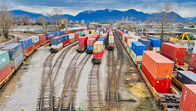 2021 - Vancouver - CNR Glen Marshalling Yard