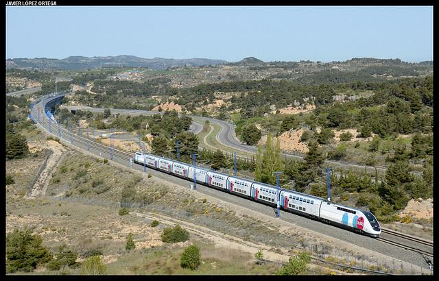 TGV en Vinaixa